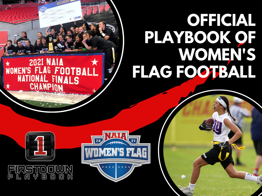 FirstDown PlayBook is the official playbook of women's flag football!